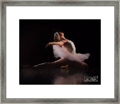 The Swan  Framed Print