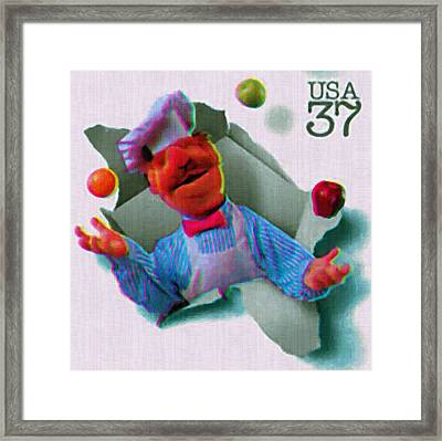 The Swedish Chef Framed Print by Lanjee Chee