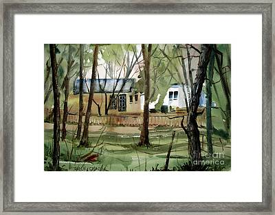 The Sweep Matted Glassed Framed Framed Print by Charlie Spear