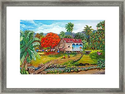 The Sweet Life Framed Print by Karin  Dawn Kelshall- Best