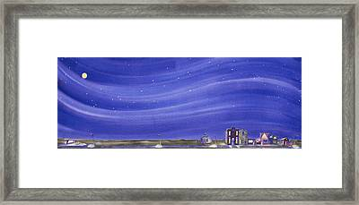 The Sweetest Little Town In The Prairie IIi Framed Print by Scott Kirby
