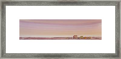 The Sweetest Little Town On The High Plains Framed Print by Scott Kirby