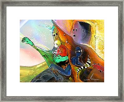 The Sweeties 04 Framed Print by Miki De Goodaboom