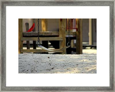 The Swing Framed Print by Debra Forand