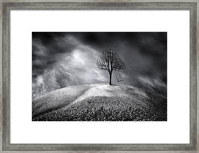The Swing That Swings Alone Framed Print