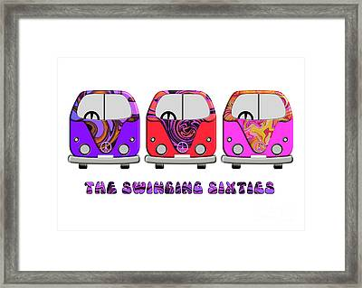 The Swinging Sixties Framed Print