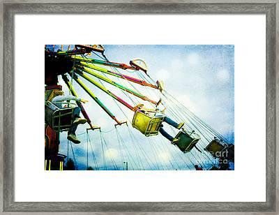 The Swings Framed Print