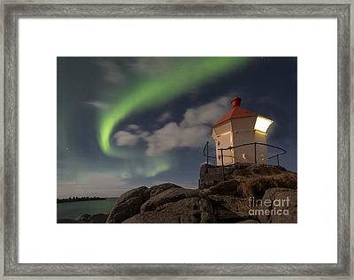 The Swirl Framed Print by Timm Chapman