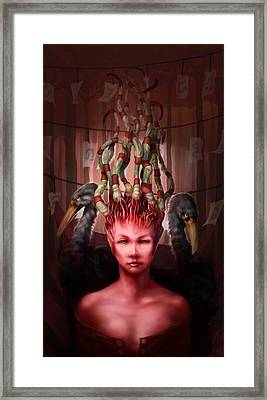 The Symbolist Framed Print by Ethan Harris