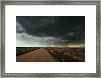The Symmetry Of The Plains Framed Print