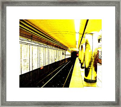 The T Framed Print