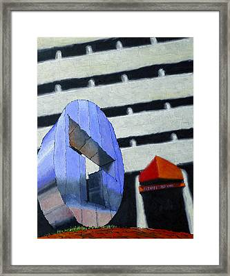 The T Framed Print by Mike Gruber