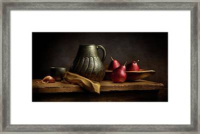 Framed Print featuring the photograph The Table by Cindy Lark Hartman