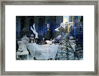 The Table Spread Framed Print by Diana Angstadt