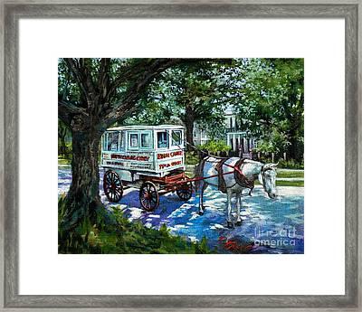 The Taffy Man Framed Print by Dianne Parks