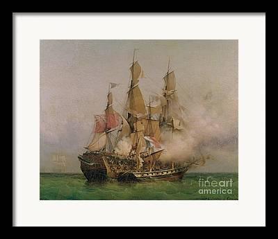 1736 Framed Prints