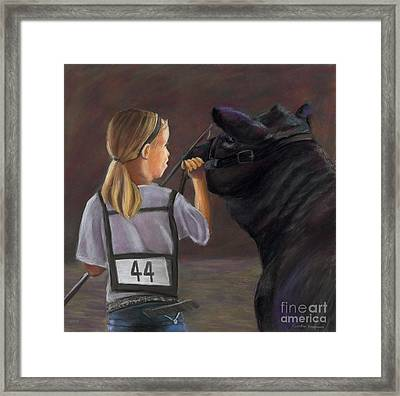 The Talk Framed Print by Christian Vandehaar