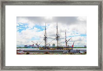 The Tall Ship Hermione - Philadelphia Pa Framed Print by Bill Cannon