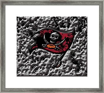 The Tampa Bay Buccaneers 1a Framed Print by Brian Reaves