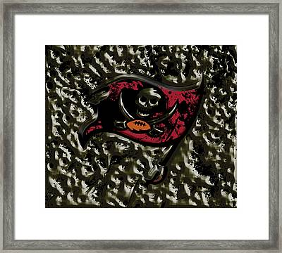 The Tampa Bay Buccaneers Framed Print by Brian Reaves