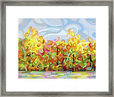 The Tangled Shore Framed Print