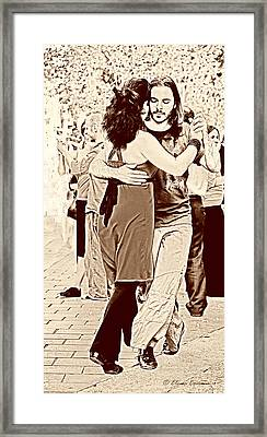 The Tango Framed Print by Starlite Studio