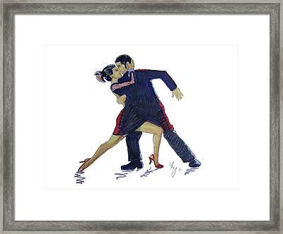 The Tango Framed Print