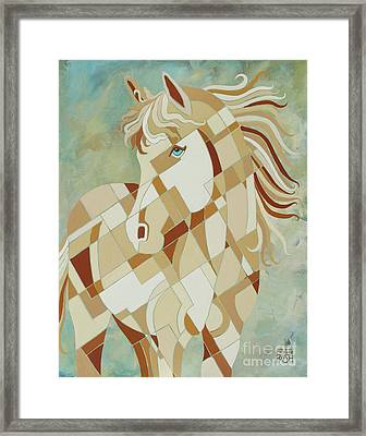 The Tao Of Being Carefree Framed Print