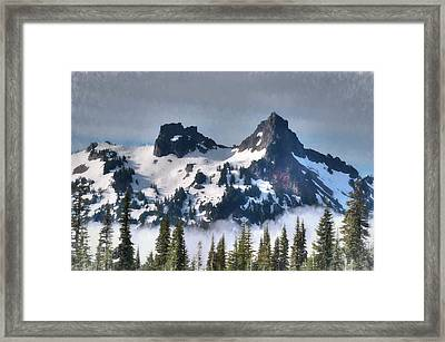 The Tatoosh, Washington, Usa Framed Print