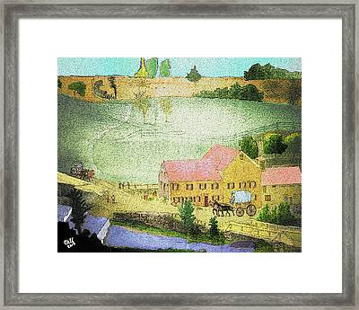 The Tavern Framed Print