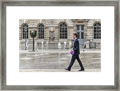 Framed Print featuring the photograph The Tax Man by Keith Armstrong