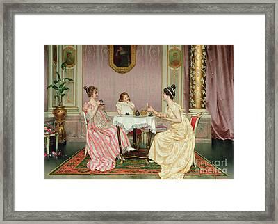 The Tea Party Framed Print