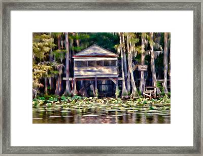 The Tea Room Framed Print by Lana Trussell
