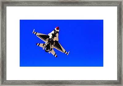 The Team Usaf Thunderbirds Framed Print