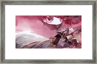 The Tears Of Mont Fuji Framed Print by Miki De Goodaboom