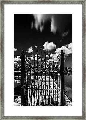 The Tee Gate  Framed Print