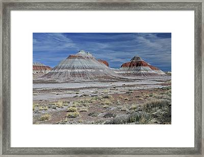 Framed Print featuring the photograph the TeePees by Gary Kaylor