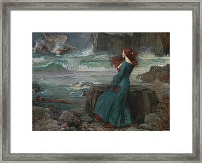 The Tempest Framed Print