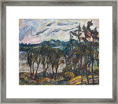 The Temple Of Peoples And Temple Of The God Framed Print by Babelis Vytautas