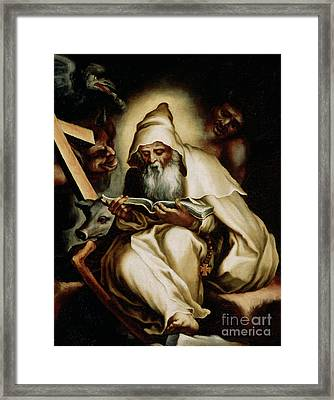 The Temptation Of Saint Anthony Framed Print