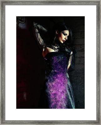 The Temptress Framed Print by Nichola Denny