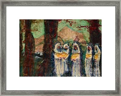 The Ten Virgins Framed Print