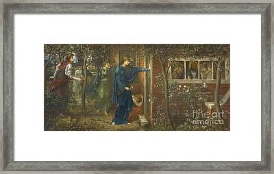 The Ten Virgins Framed Print by MotionAge Designs