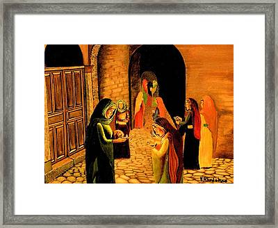 The Ten Virgins Parable Framed Print