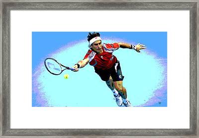 The Tennis Player Framed Print
