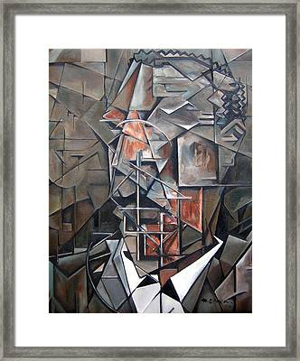 The Tenorist Framed Print by Martel Chapman