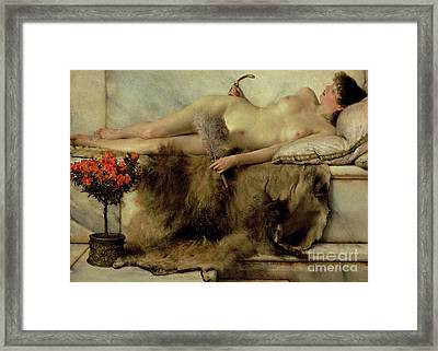 The Tepidarium Framed Print by Sir Lawrence Alma-Tadema