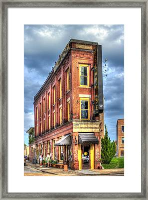 The Terminal Brewhouse Stong Building Chattanooga Tn Framed Print by Reid Callaway