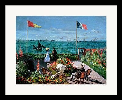 Tricolored Framed Prints