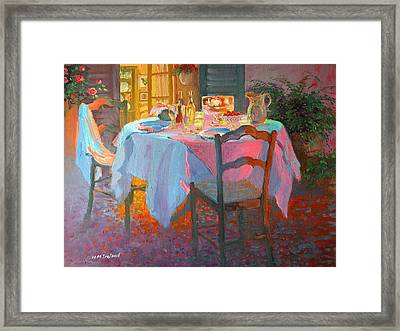 The Terrace Framed Print by William Ireland